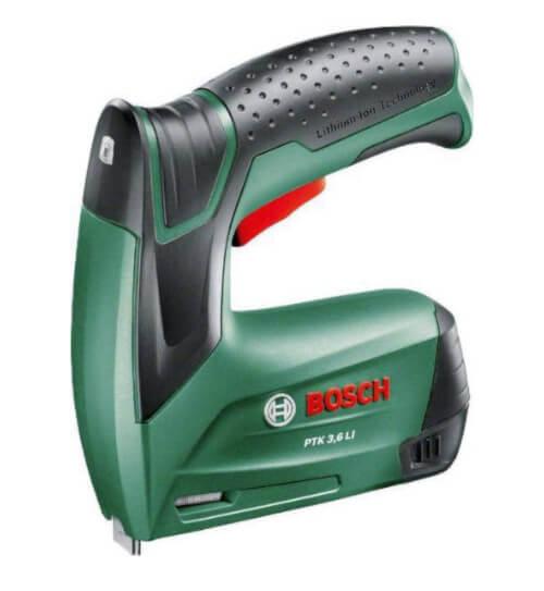 Grapadora eléctrica Bosch PTK 3.6 litio