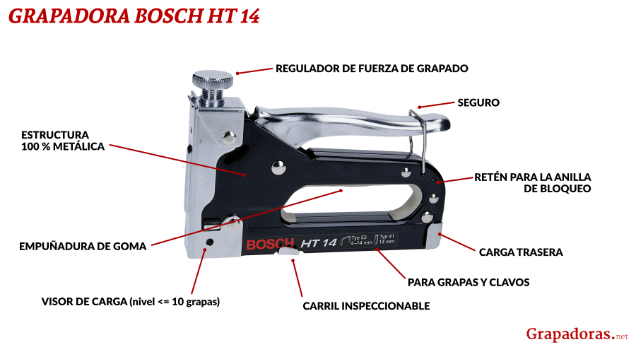 Grapadora de mano Bosch HT 14