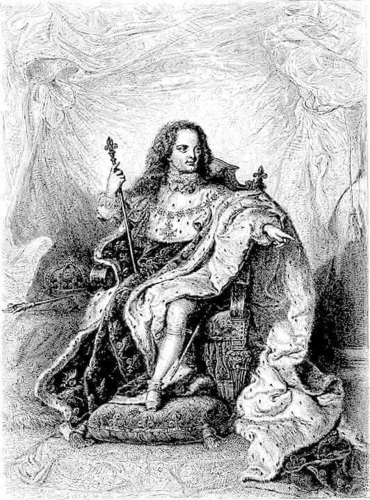 Rey de Francia Luis XV