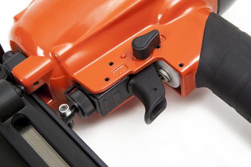 regulador de profundidad y selector de disparo