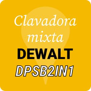 Grapadora combinada DeWALT DPSB2IN1
