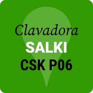 Clavadora Salki de pines sin cabeza CSK P06