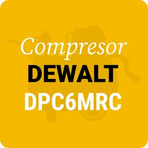Compresor sin aceite DeWALT DPC6MRC