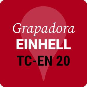 Grapadora bricolaje eléctrica Einhell TC-20
