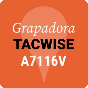 Grapadora Tacwise A7116V